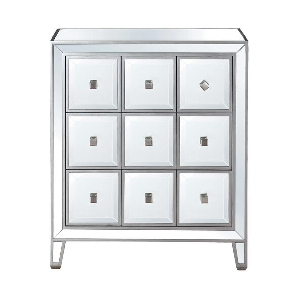 Mitsuwa 9 Drawer Accent Chest by Rosdorf Park