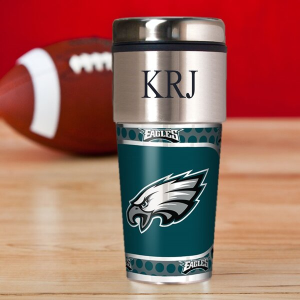 Personalized Eagles Travel Mug by JDS Personalized Gifts