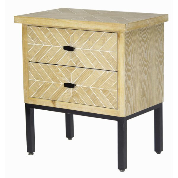 Breton 2 Drawer Accent Chest by Union Rustic
