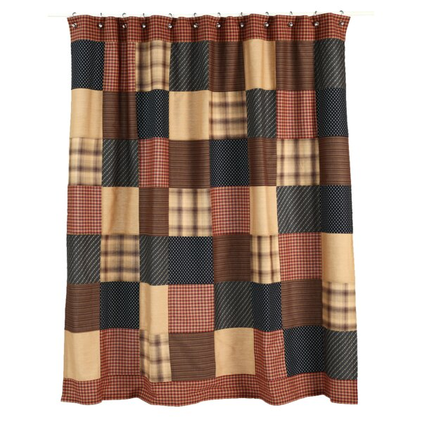 Medomak Cotton Shower Curtain by Loon Peak