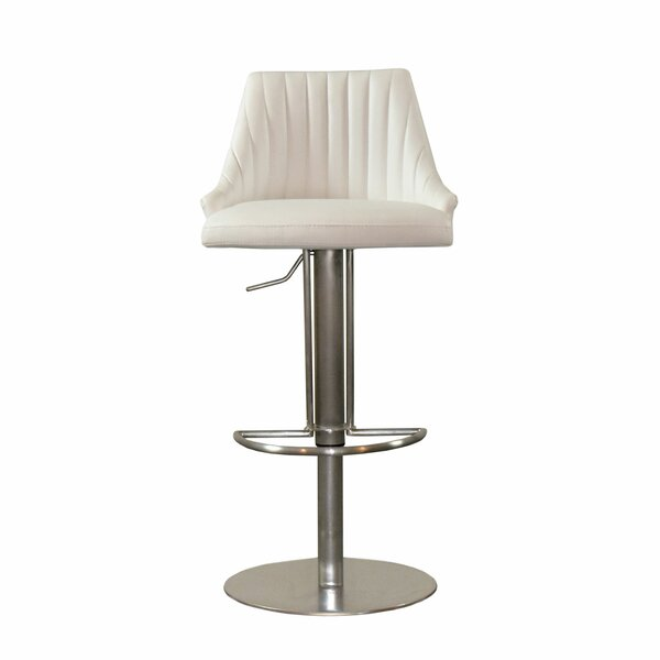Monroe Adjustable Height Swivel Bar Stool by RMG Fine Imports