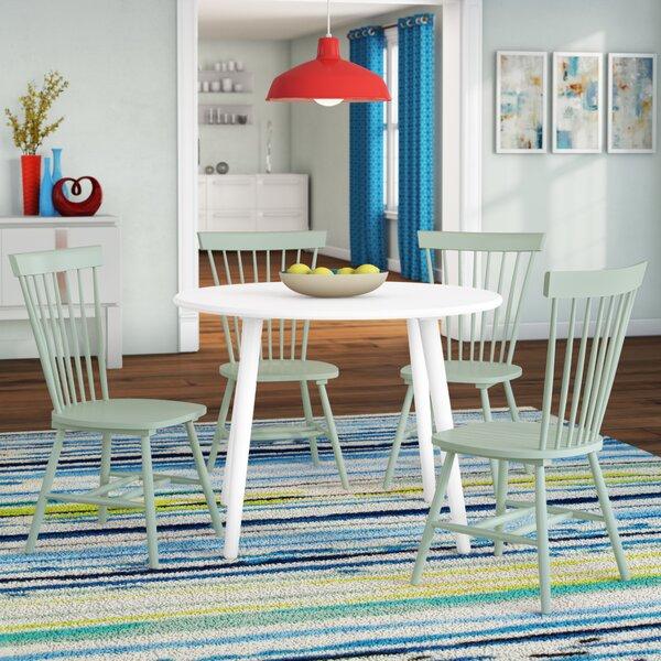 Garlington 5 Piece Dining Set by Ebern Designs
