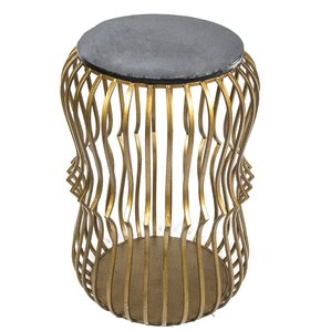 Sagebrook Home Metal End Table