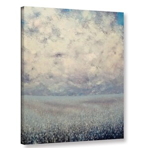 Amaranthine Painting Print on Wrapped Canvas by Alcott Hill