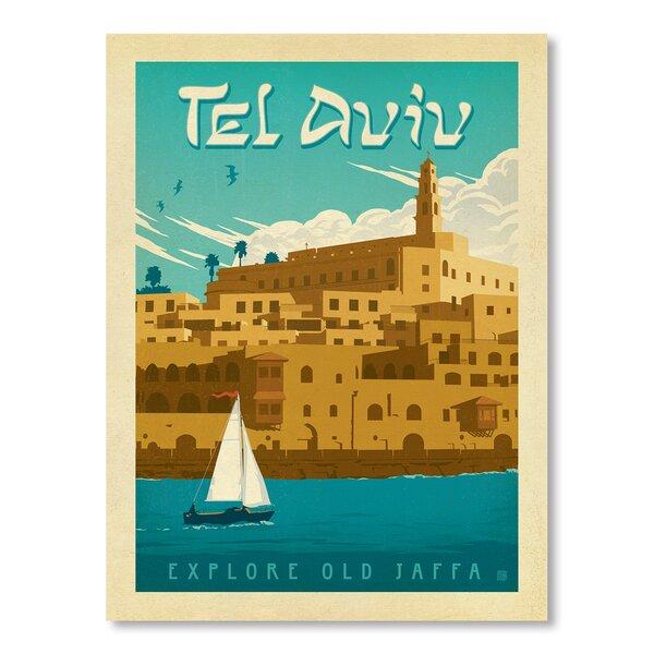 Tel Aviv Vintage Advertisement by East Urban Home