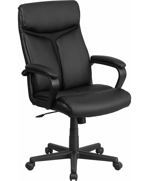 Drinnon High-Back Executive Chair by Ebern Designs