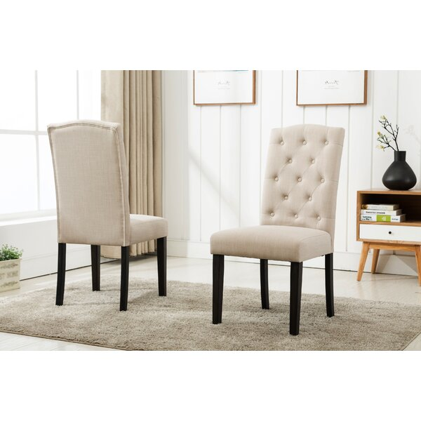 Fresh Cendrillon Upholstered Dining Chair (Set Of 2) By Darby Home Co Today Only Sale