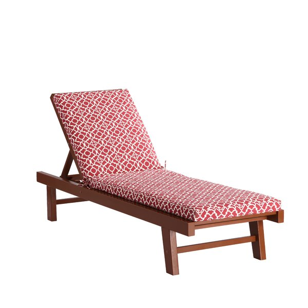 Waverly Lexie Indoor/Outdoor Chaise Lounge Cushion by Waverly