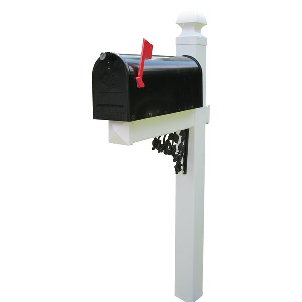 Mailbox with Post Included by 4Ever Products