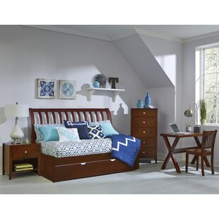 Searching for Ankeny Rake Sleigh Twin Daybed with Trundle ByHarriet Bee