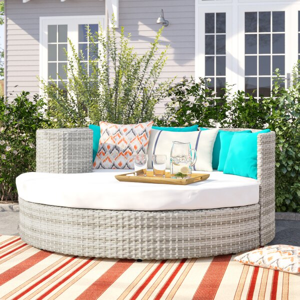 Waterbury Patio Daybed with Cushions by Sol 72 Outdoor