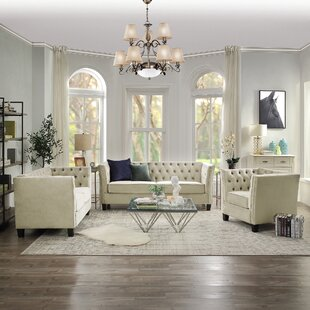 Higden 3 Piece Living Room Set by Canora Grey