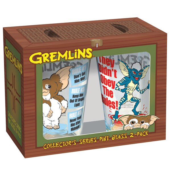 Gremlins Rules Pint 16 oz. Glass by ICUP Inc