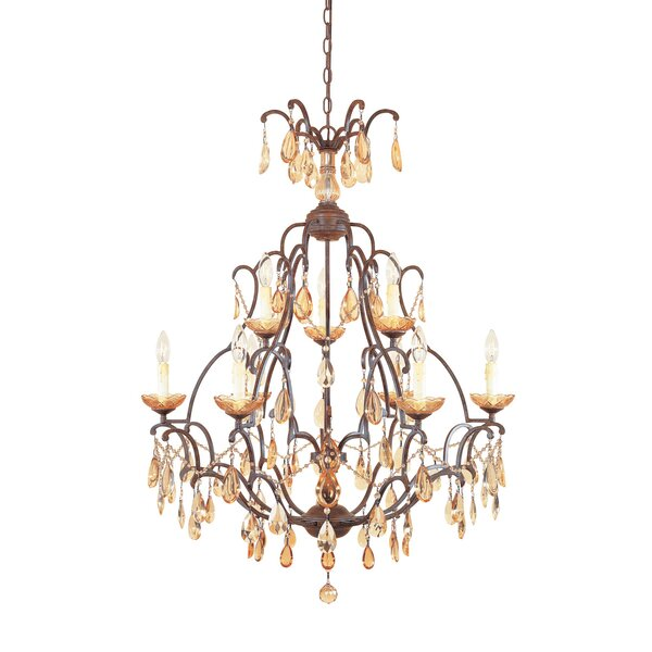 Lamas 9-Light Candle Style Tiered Chandelier by Astoria Grand Astoria Grand