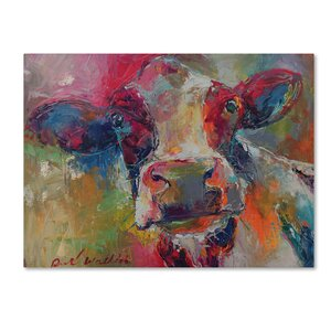 'Art Cow 4592' Print on Wrapped Canvas by Trademark Fine Art