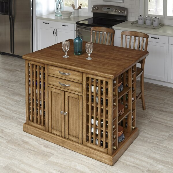 The Vintner 3 Piece Kitchen Island Set by Home Styles