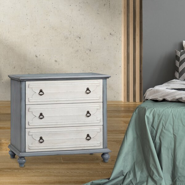Donald 3 Drawer Bachelor's Chest by One Allium Way