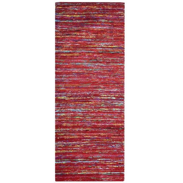 Sari Tandoori Red Area Rug by Rug Studio