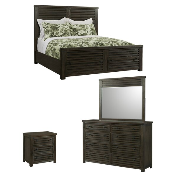 Panola Panel Configurable Bedroom Set by Gracie Oaks