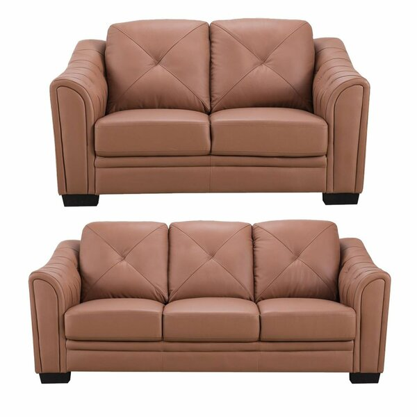 Sylvania 2 Piece Standard Living Room Set by Foundry Select
