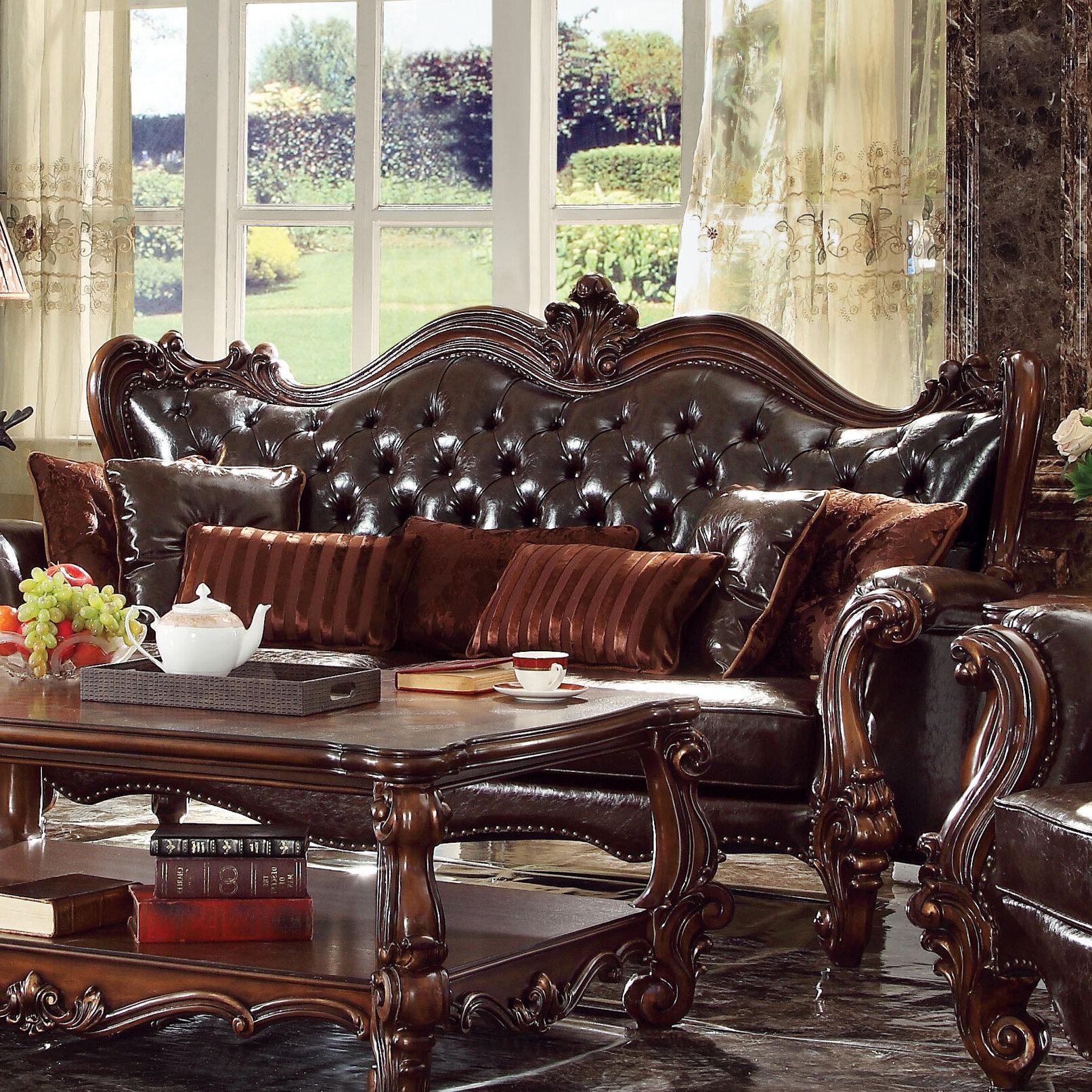 ACME Furniture Versailles Sofa Wayfair