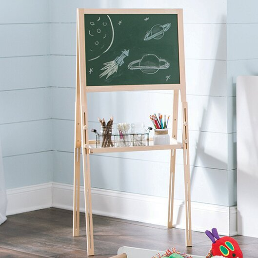 KidSpace Chalkboard and Dry Erase Board Easel by ClosetMaid