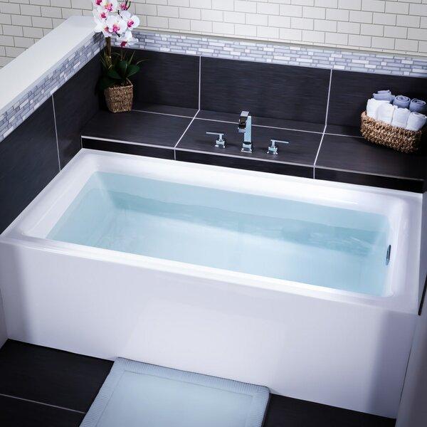 Vitality 60 x 32 Alcove Soaking Bathtub by Miseno