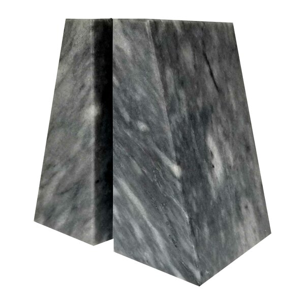 Marble Bookends (Set of 2) by Orren Ellis