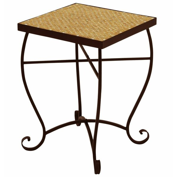 Moroccan Mosaic Side Table by Urban Designs