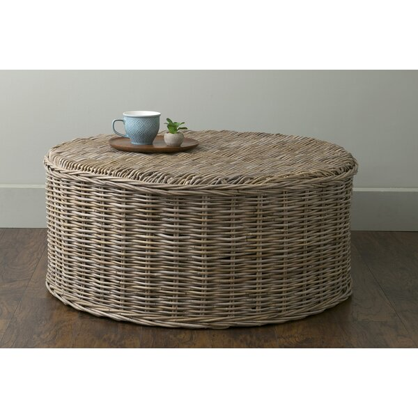 Vitiello Rattan Coffee Table By Highland Dunes