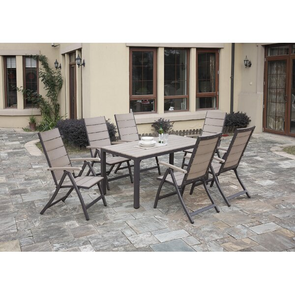 Carron 7-Piece Dining Set by A&J Homes Studio