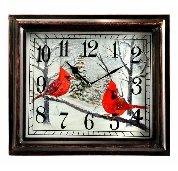 Cardinal Wall Clock by Regency International