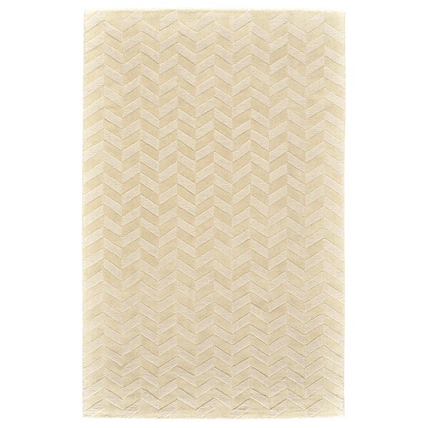 Mcnab Hand-Tufted Wool Ivory Area Rug by Williston Forge
