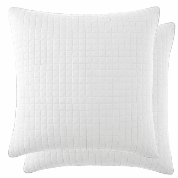 Eldon Quilted Throw Pillow Cover (Set of 2) by Laurel Foundry Modern Farmhouse