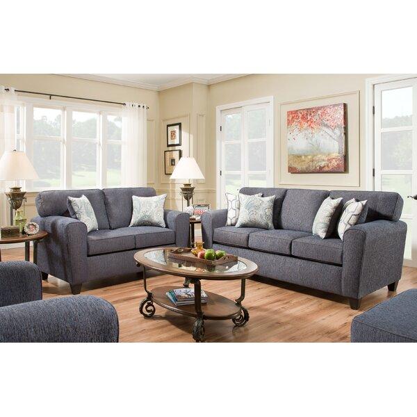 Ascencio Living Room Set (Set of 2) by Alcott Hill