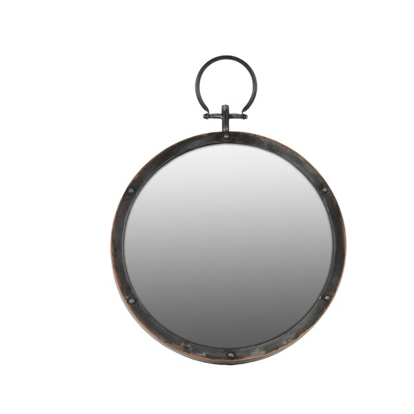 Round Wall Mirror by Urban Trends