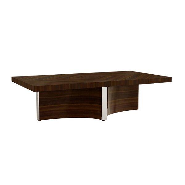 Durkin Pedestal Coffee Table By Orren Ellis