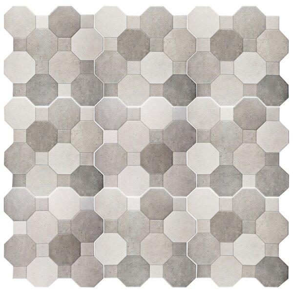 Imagino 17.75 x 17.75 Ceramic Tile in Cement by EliteTile