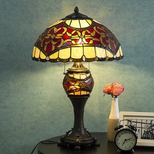 Inexpensive Peckover Tiffany Style 16 Table Lamp By Astoria Grand
