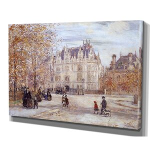 'The Fletcher Mansion' by Raffaëlli Framed Painting Print by Wexford Home
