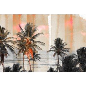 'Bahia' by Parvez Taj Graphic Art Print on Canvas by Parvez Taj