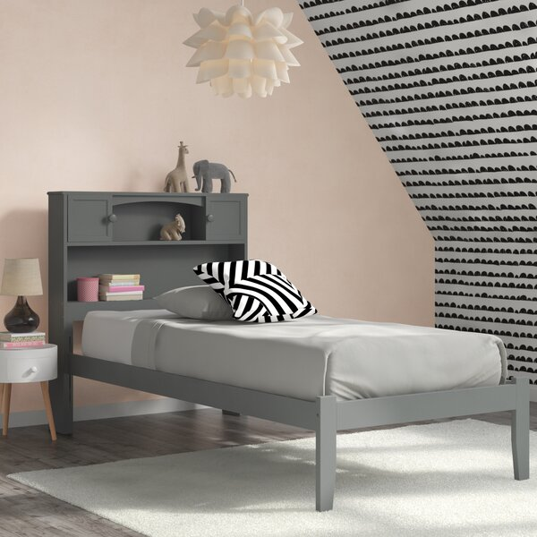 Pitcock Platform Bed with Drawers and Bookcase by Viv + Rae