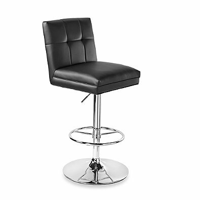 Gisla Adjustable Height Swivel Bar Stool By Orren Ellis