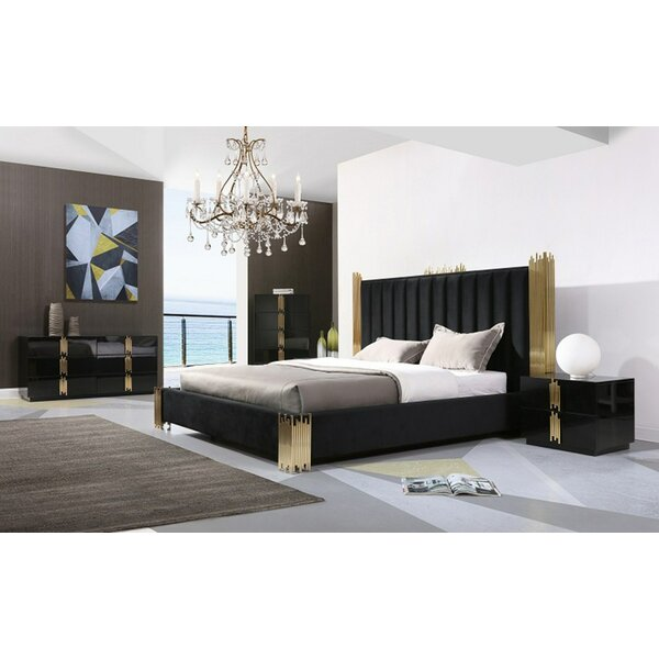 Sandvos Platform 5 Piece Bedroom Set by Everly Quinn