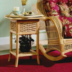 Serving Table by Spice Islands Wicker