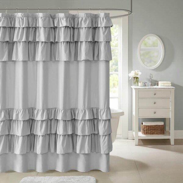Leflore Microfiber Shower Curtain by Lark Manor