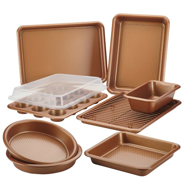 10 Piece Non-stick Bakeware Set by Ayesha Curry