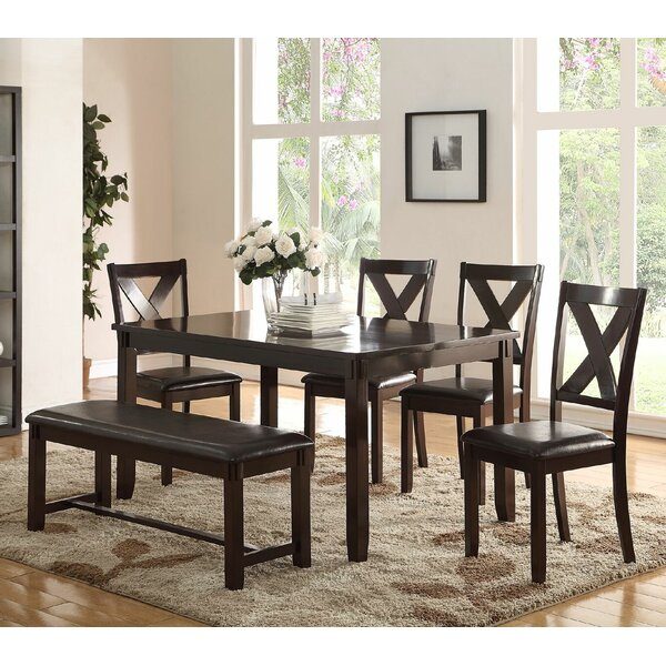 6 Piece Dining Set by Infini Furnishings