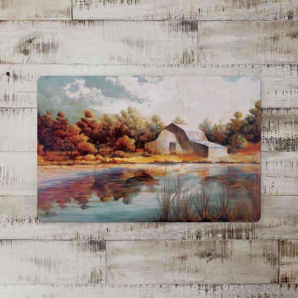 Morse Painted Lake Barn Kitchen Mat