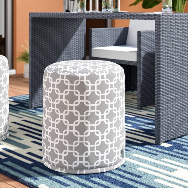 Banas Small Pouf by Wade Logan